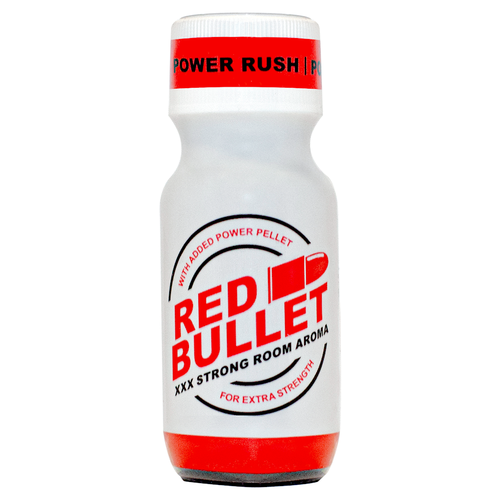 Poppers Red Bullet 22 ml