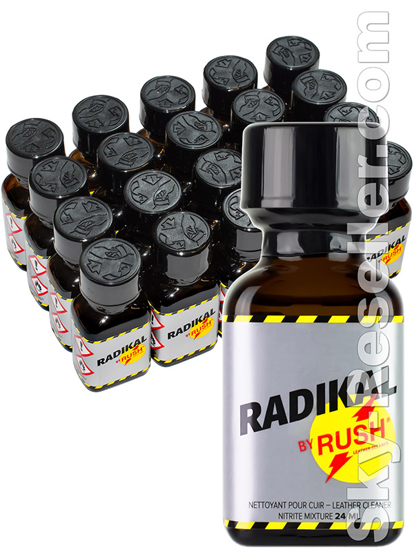 Poppers Rush Radikal Silver 24 ml