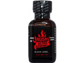 Poppers Rush Ultra Strong Black 24 ml